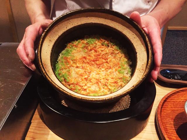 7品目 土鍋の炊き込み御飯