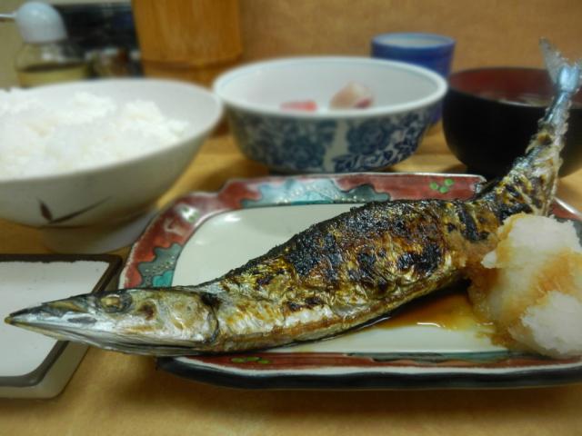 秋の味覚 たかが秋刀魚されど秋刀魚『さかな亭』東京