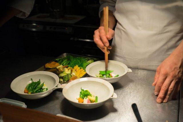 野菜を駆使したイタリアンを堪能できる
