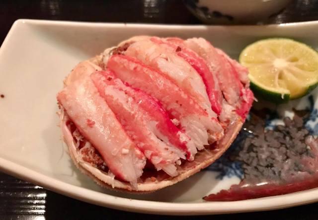 蟹の帝王【銀座 きた福】