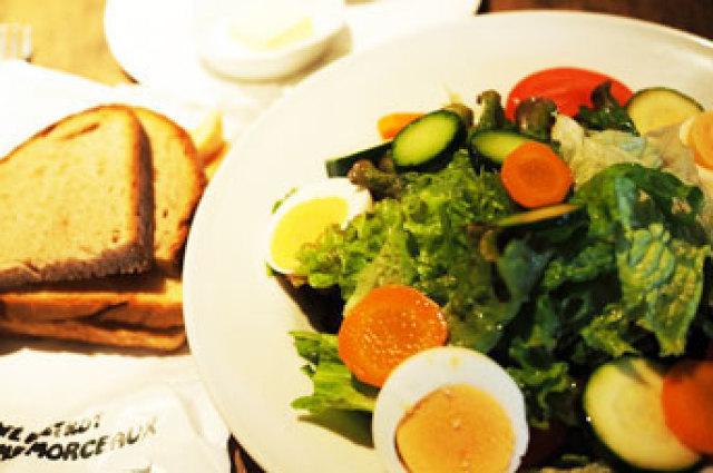 朝食事情が豊かな京都の素敵なフレンチ【カフェビストロオーボンモルソー】