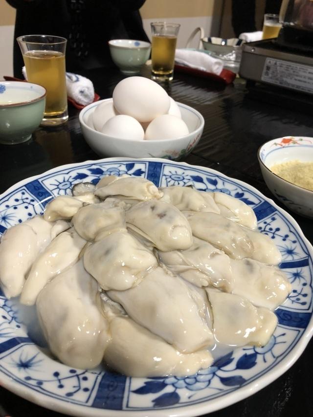 牡蠣鍋、能登牛鍋【みふく】