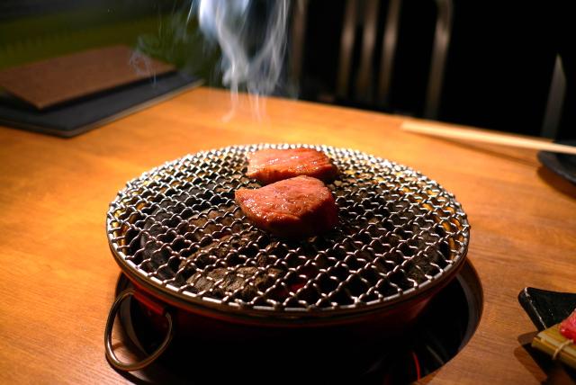 【炭火焼肉なかはら】どの部位も間違いない焼き肉屋さん