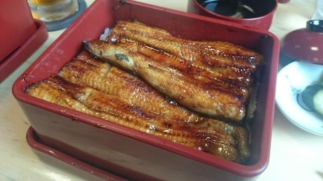 これが関東一、美味しい鰻重でございます