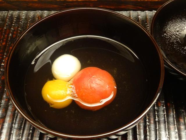 葉月の煮物椀