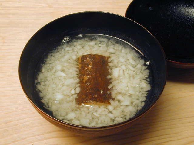 師走の煮物椀