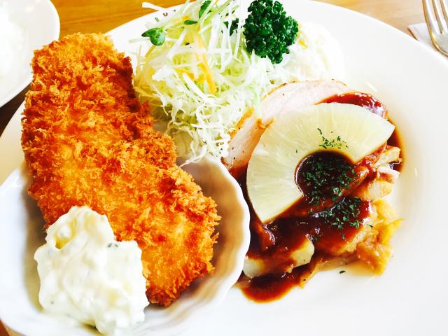 老舗で味わう洋食:ランチョン